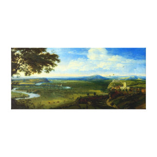 Jan Siberechts View of Nottingham from the East Canvas Print