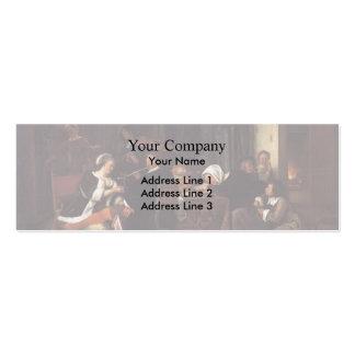 Jan Steen- Dissolute Household Business Card