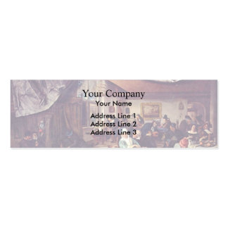 Jan Steen- Life of Man Business Cards