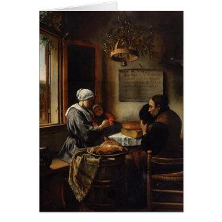 Jan Steen- Prayer before Meal Greeting Cards