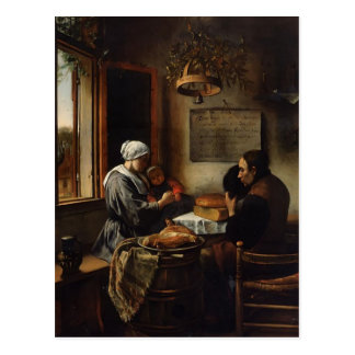 Jan Steen- Prayer before Meal Post Card