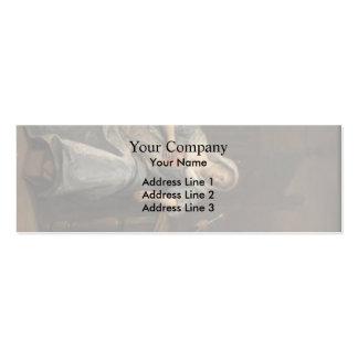 Jan Steen- Sick woman Business Card Templates