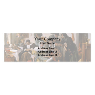 Jan Steen- Wealth is looking Business Cards