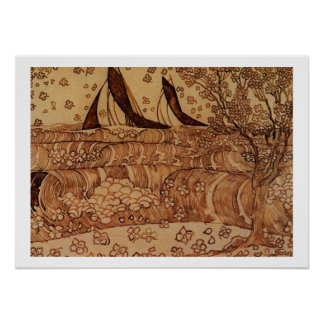Jan Theodoor Toorop - Waves Poster