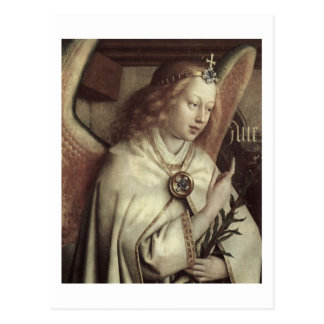 Jan van Eyck Angel, Genter Altar Fine Vintage Postcard