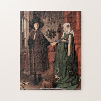 Jan Van Eyck - Arnolfini Wedding puzzle