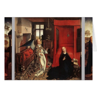Jan van Eyck- The Annunciation Card