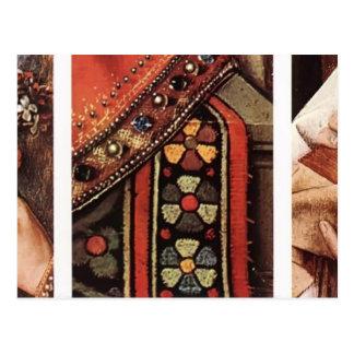 Jan van Eyck- The Madonna of Canon van der Paele Post Cards