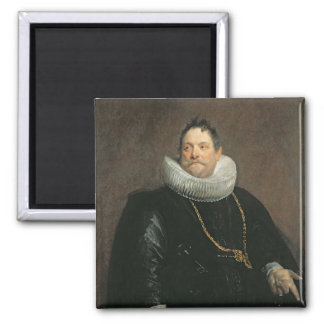 Jan van Monfort Square Magnet