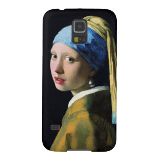 Jan Vermeer Girl With A Pearl Earring Baroque Art Galaxy S5 Cases