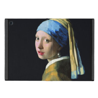 Jan Vermeer Girl With A Pearl Earring Baroque Art iPad Mini Cases