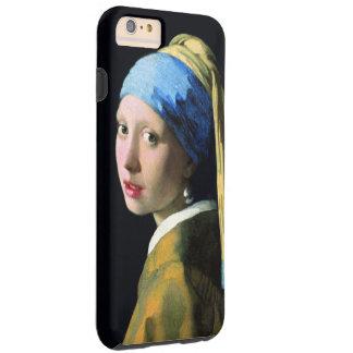 Jan Vermeer Girl With A Pearl Earring Vintage Art Tough iPhone 6 Plus Case