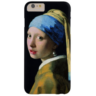 Jan Vermeer Girl With A Pearl Earring Vintage Barely There iPhone 6 Plus Case