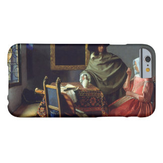Jan Vermeer - The Glass of Wine Barely There iPhone 6 Case