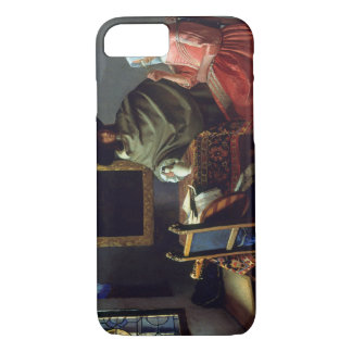 Jan Vermeer - The Glass of Wine iPhone 7 Case