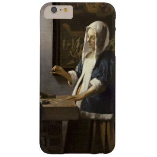 Jan Vermeer Woman Holding A Balance Vintage Art Barely There iPhone 6 Plus Case