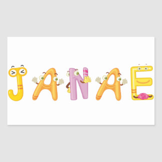 Janae Sticker