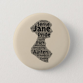 Jane Austen Button