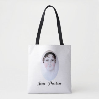 Jane Austen Custom All-Over-Print Tote Bag