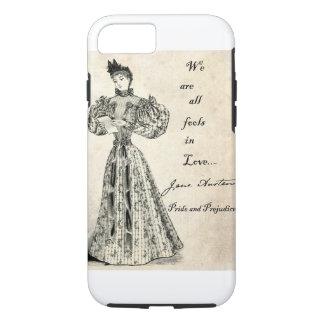 Jane Austen: Fools in Love iPhone 7 Case