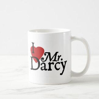 Jane Austen I LOVE Mr. Darcy Mug