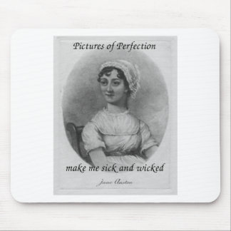 Jane Austen is Sick and Wicked Mouse Pad