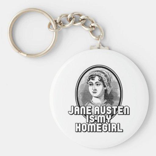 Jane Austen Key Chains