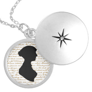 Jane Austen Locket