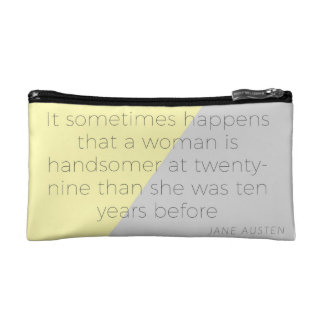 Jane Austen Makeup Bag