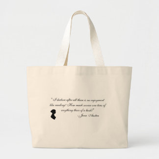 Jane Austen memorabilia Large Tote Bag