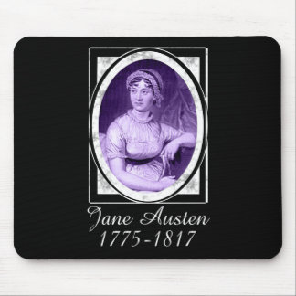 Jane Austen Mouse Pad
