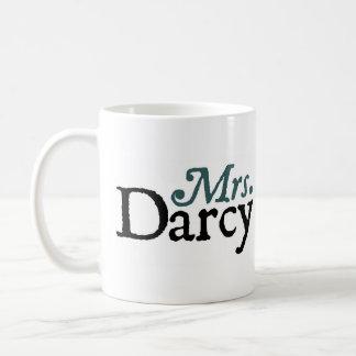 Jane Austen Mrs Darcy Mug