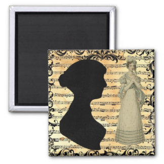 Jane Austen Music Magnet