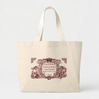 Jane Austen Netherfield Ball Invite Bag
