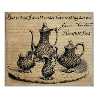 Jane Austen: Nothing But Tea Poster