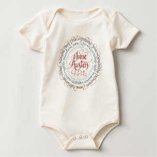 Jane Austen Period Drama Adaptations Baby One Baby Bodysuit