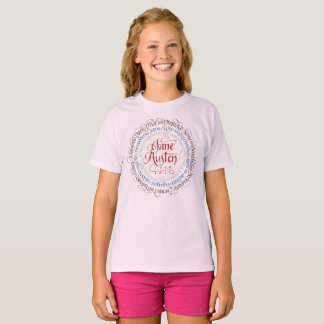 Jane Austen Period Drama Adaptations Girls T-shirt