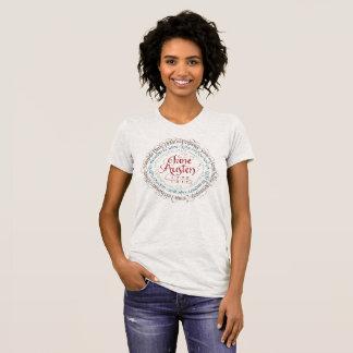 Jane Austen Period Drama Fine Jersey T-shirt