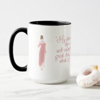 Jane Austen Persuasion Quote Mug