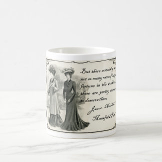 Jane Austen: Pretty Women Coffee Mug