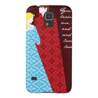 "Jane Austen Pride and Prejudice gift ""Elizabeth"" Galaxy S5 Covers"
