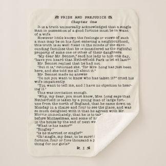 Jane Austen Pride and Prejudice Literature Quote Sherpa Blanket