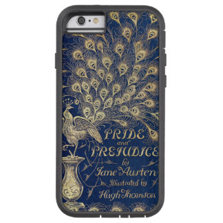 Jane Austen Pride and Prejudice Peacock 1894 Tough Xtreme iPhone 6 Case