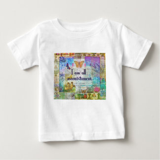 Jane Austen Pride and Prejudice Quote Baby T-Shirt