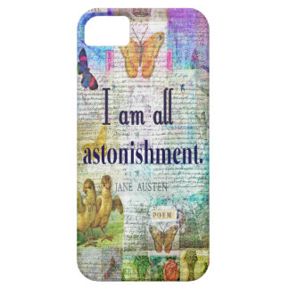 Jane Austen Pride and Prejudice Quote Case For The iPhone 5