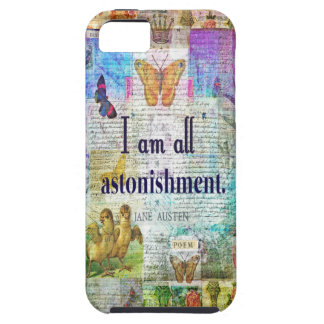 Jane Austen Pride and Prejudice Quote iPhone 5 Cover