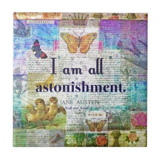 Jane Austen Pride and Prejudice Quote Tile