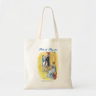 Jane Austen Pride & Prejudice - She is Tolerable Tote Bag