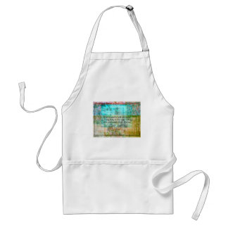 Jane Austen quote about adventure and travel Standard Apron
