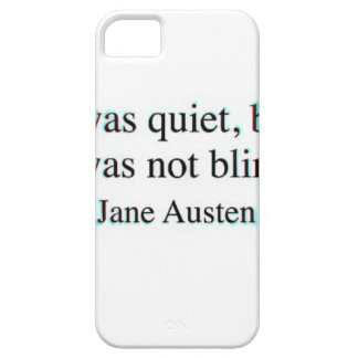 Jane Austen quote iPhone 5 Cases